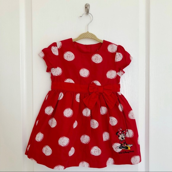 a09ae5cee57 Disney Other - Red Minnie Mouse Dress